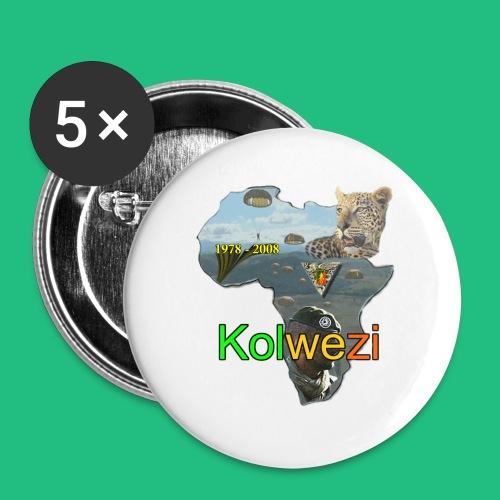 Kolwezi 2e REP - Badge petit 25 mm