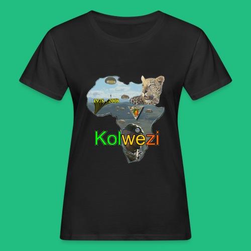 Kolwezi 2e REP - T-shirt bio Femme