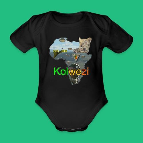 Kolwezi 2e REP - Body bébé bio manches courtes