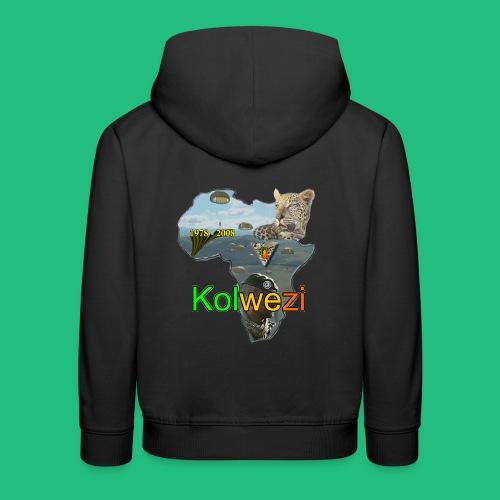 Kolwezi 2e REP - Pull à capuche Premium Enfant