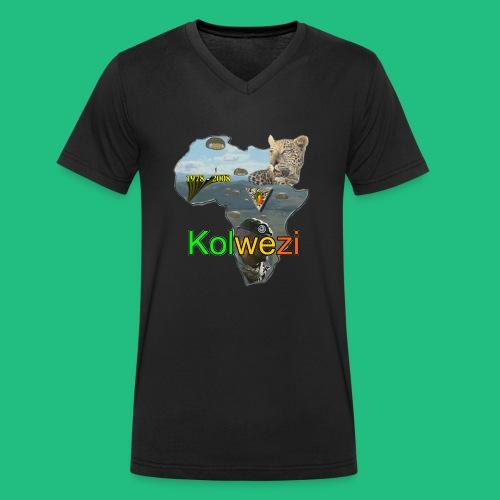 Kolwezi 2e REP - T-shirt bio col V Stanley & Stella Homme