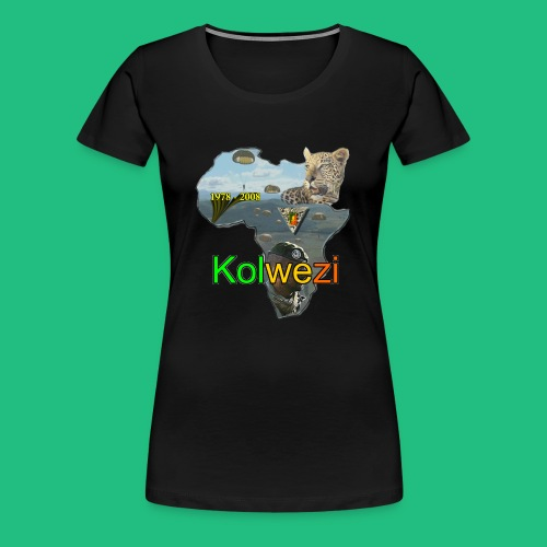 Kolwezi 2e REP - T-shirt Premium Femme