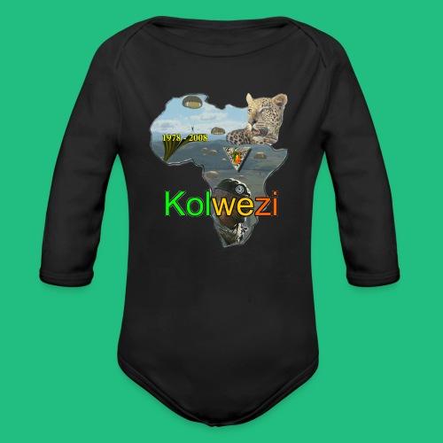 Kolwezi 2e REP - Body bébé bio manches longues
