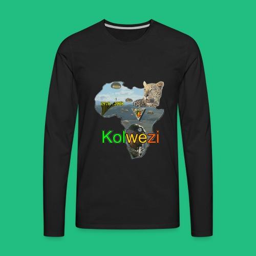 Kolwezi 2e REP - T-shirt manches longues Premium Homme