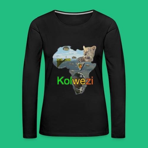 Kolwezi 2e REP - T-shirt manches longues Premium Femme