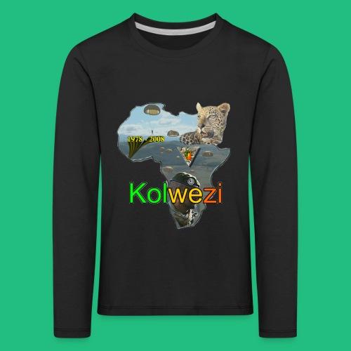Kolwezi 2e REP - T-shirt manches longues Premium Enfant