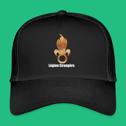 flamme légion old - Trucker Cap