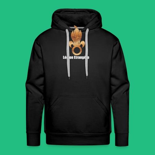 flamme légion old - Sweat-shirt à capuche Premium pour hommes