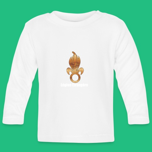 flamme légion old - T-shirt manches longues Bébé
