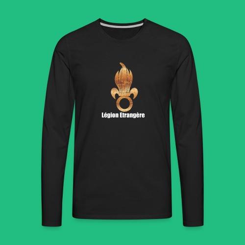flamme légion old - T-shirt manches longues Premium Homme