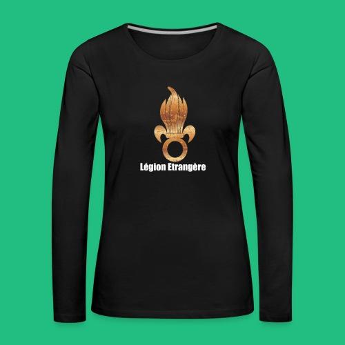 flamme légion old - T-shirt manches longues Premium Femme