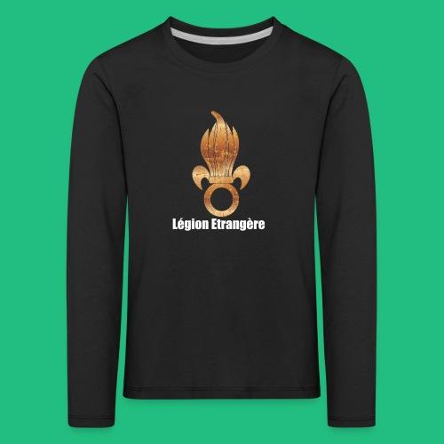 flamme légion old - T-shirt manches longues Premium Enfant