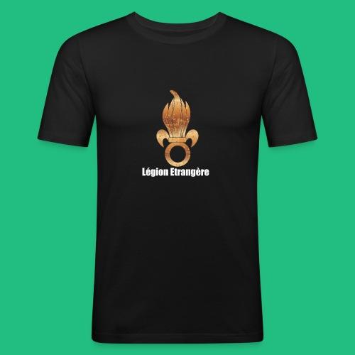 flamme légion old - T-shirt près du corps Homme