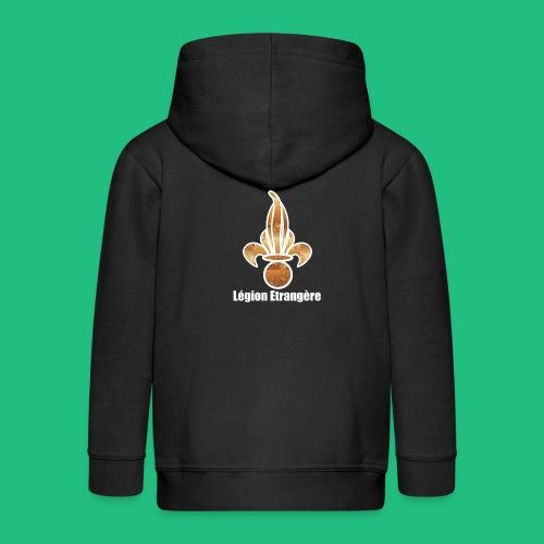 Flamme Légion design - Veste à capuche Premium Enfant