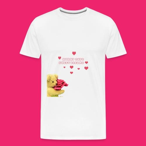Mummy says sweet dreams bodysuit - Men's Premium T-Shirt