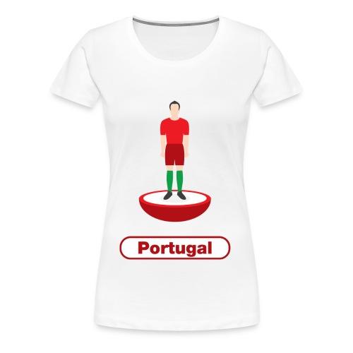 Portugal football - Mens tshirts - Women's Premium T-Shirt