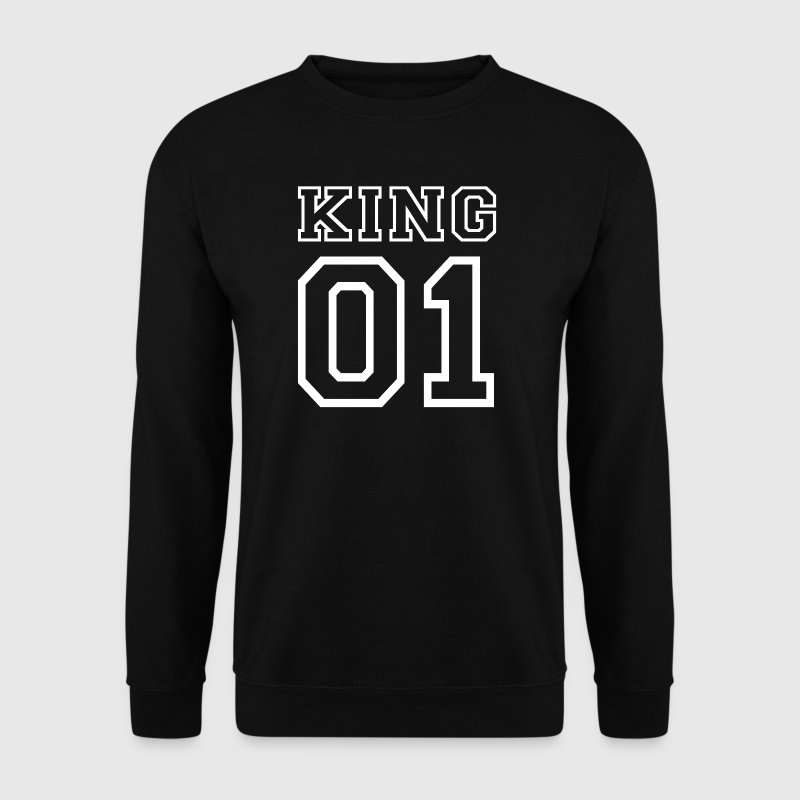 PARTNERSHIRT - KING 01 Pullover & Hoodies - Männer Pullover