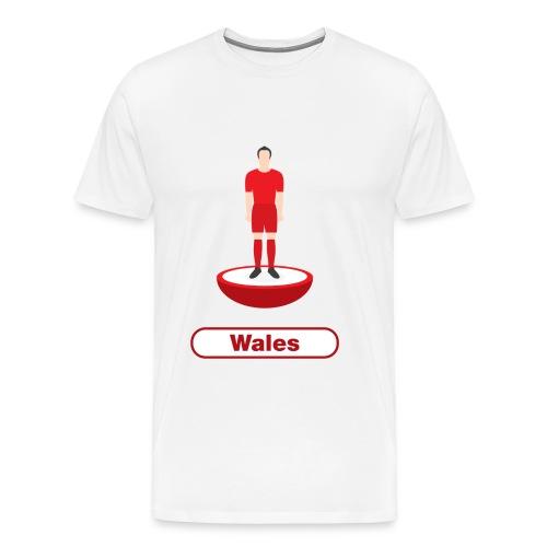 Wales football - Kids tshirts - Men's Premium T-Shirt
