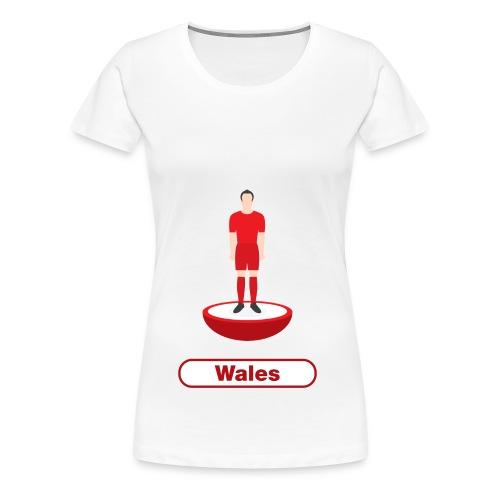 Wales football - Kids tshirts - Women's Premium T-Shirt
