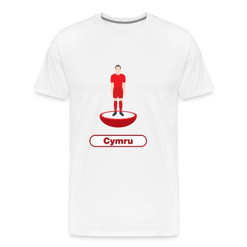 Pêl-droed Cymru - Kids tshirt - Men's Premium T-Shirt