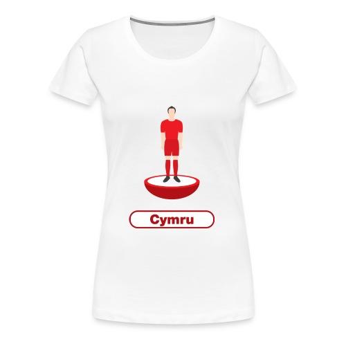 Pêl-droed Cymru - Kids tshirt - Women's Premium T-Shirt