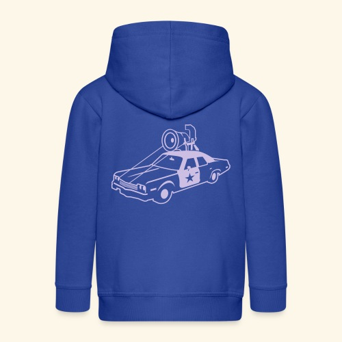 spassprediger.de presents: Bluesmobil - das Original - Kinder Premium Kapuzenjacke