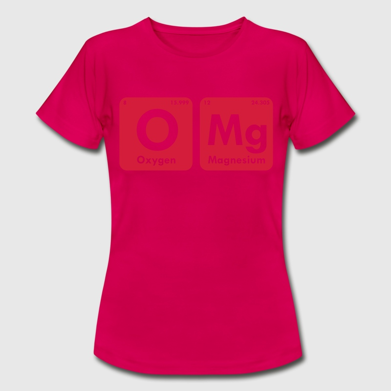 OMG PERIODIC TABLE WOMEN T-SHIRT - Women's T-Shirt