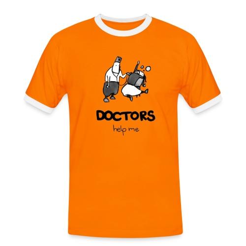 LIMITED - Männer Kontrast-T-Shirt