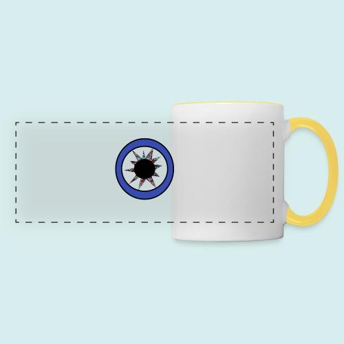 Blue eye Star - Panoramic Mug