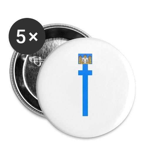 Viirii edullisempi malli - Rintamerkit pienet 25 mm (5kpl pakkauksessa)