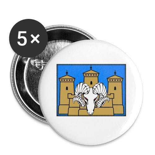 Selkäpainatus premiun aatu - Rintamerkit pienet 25 mm (5kpl pakkauksessa)