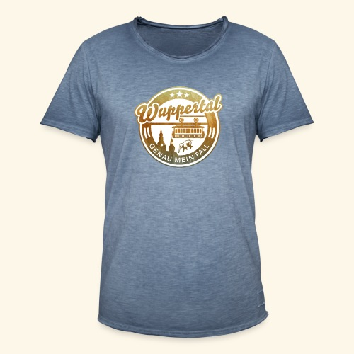 spassprediger.de presents: Wuppertal, distressed - Männer Vintage T-Shirt