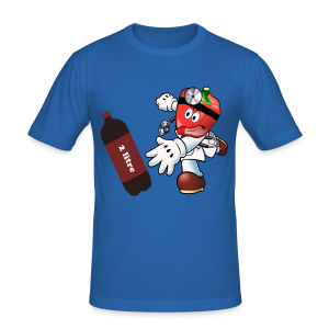 DrPepper2litre Twitch - Men's Slim Fit T-Shirt