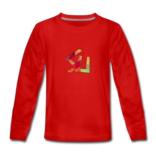 Kids Shirt - Teenagers' Premium Longsleeve Shirt