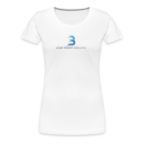 Blue Vision Shirt Woman - Frauen Premium T-Shirt