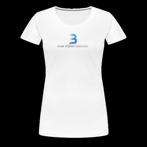 Blue Vision Shirt Woman - Frauen Premium T-Shirt
