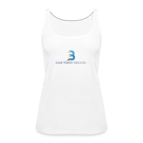 Blue Vision Shirt Woman - Frauen Premium Tank Top