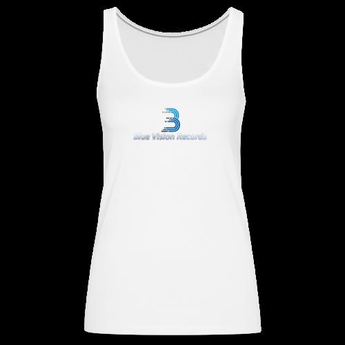 Blue Vision Shirt Woman - Frauen Premium Tank Top