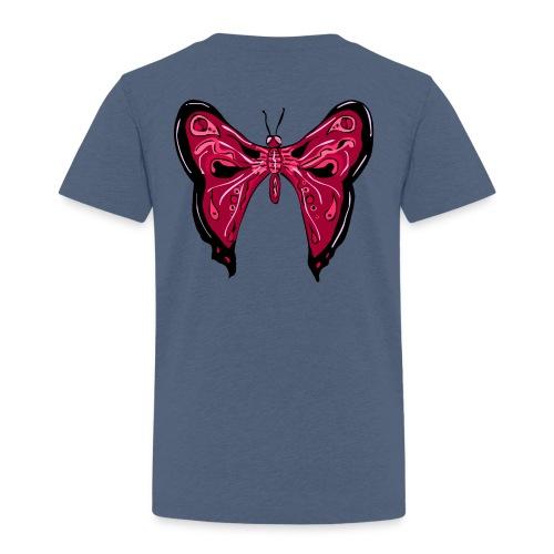 papillon rose - T-shirt Premium Enfant