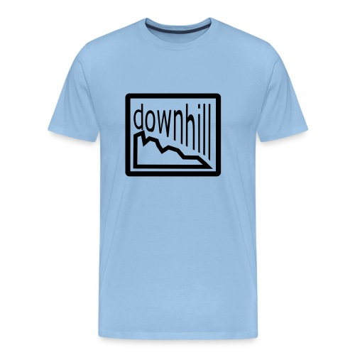 Bike Fashion Downhill - Männer Premium T-Shirt