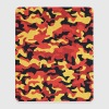 Camouflage Pattern in Red Black Yellow  Other - Mouse Pad (vertical)