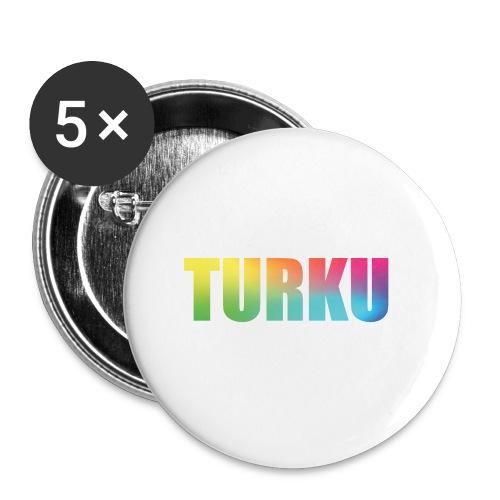 Turku Summer2016 - Rintamerkit pienet 25 mm