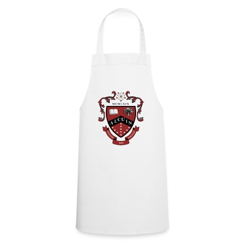 Alcuin Crest Travel Mug - Cooking Apron