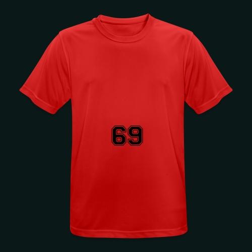 Snapback - Herre T-shirt svedtransporterende