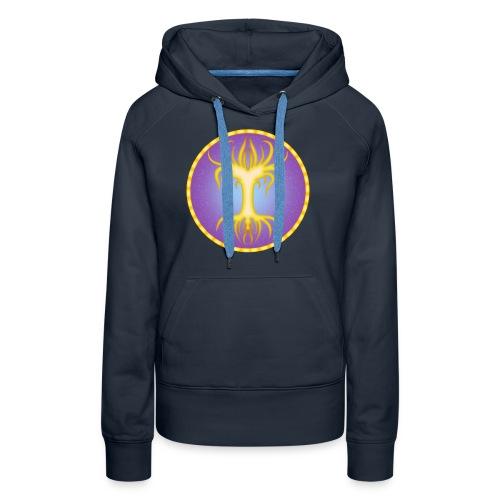 Royauté elfique - Sweat-shirt à capuche Premium pour femmes