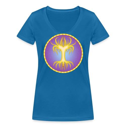 Royauté elfique - T-shirt bio col V Stanley & Stella Femme