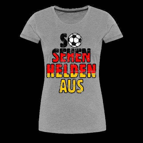 Fußball EM 2016 - So sehen Helden aus (Vintage)