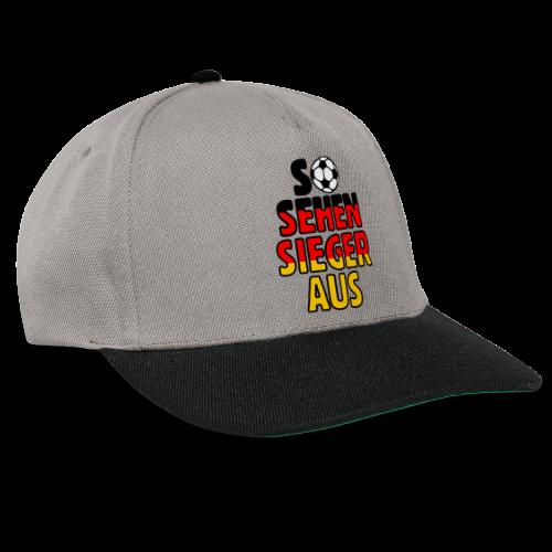 Fußball Deutschland Fan T-Shirt - Snapback Cap