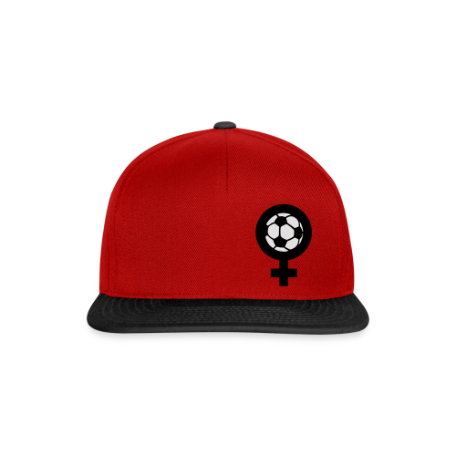 Frauenfußball Spaghetti Top - Snapback Cap