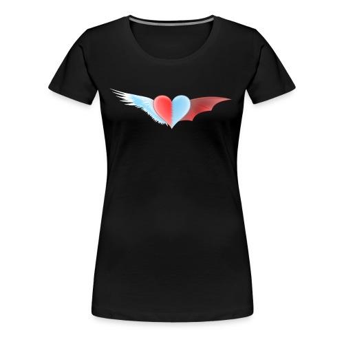 Ange et Démon - T-shirt Premium Femme